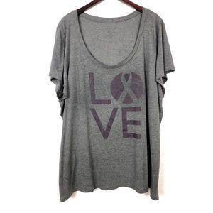 "🔸Torrid "" Love"" Graphic Short Sleeve Tee"